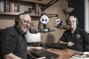Dale Throneberry and Bob Gould launched their Veterans Radio show six years ago when Throneberry, at a career crossroads, began hearing the stories of fellow veterans and realized that many of them needed a place to tell and hear their stories.