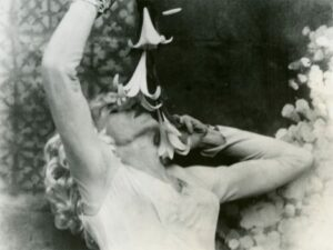 An image from 'Flaming Creatures.' The experimental movie included nudity, transvestism and simulated sex. When police confiscated the film, students launched protests. 'We didn't like the idea of the police busting movies,' recalls one student leader. 'We were also looking for trouble, as usual.'