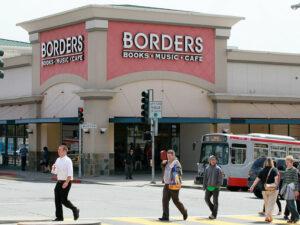 Border's book store.