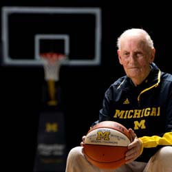 Al Storey at Crisler