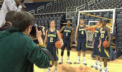 Media day for men's basketball, 2013