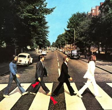 Abbey Road with clues
