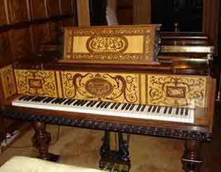 Cook piano, courtesy of Margaret Leary.