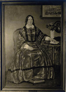 Martha Cook portrait, from the George Swain collection, courtesy of the U-M Bentley Historical Library.