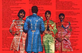 Sgt Pepper's back cover