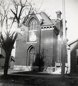 Historic shot of the Shant.