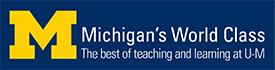 Michigan's World Class Logo Blue