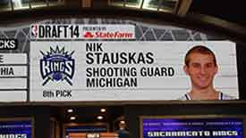 Stauskas image on the NBA Draft board