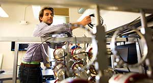 Pozzi lab, dual particle reactor