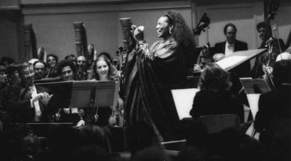 Jessye Norman at Hill, courtesy of UMS