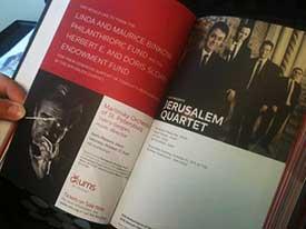 A UMS program booklet