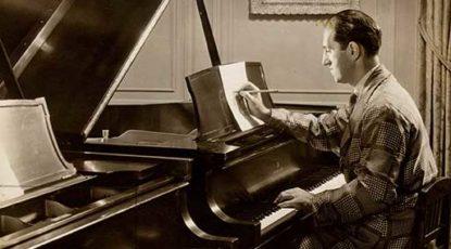 George Gershwin; image courtesy of the Ira Gershwin Archive.