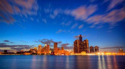 Detroit, free stock image, 2014