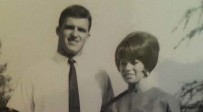 Tom Mack, BS '68 with wife