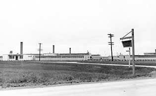Willow Run setting (Photo courtesy of U-M's Bentley Historical Library.)