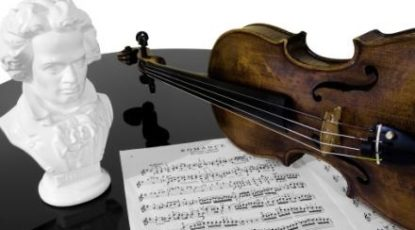 Beethoven bust, courtesy of UMHS