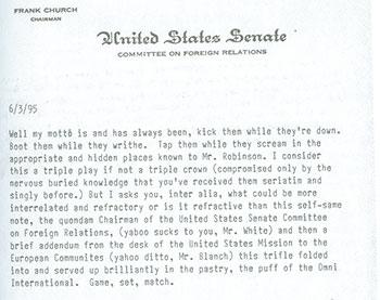 Delbanco letter from Manchip White