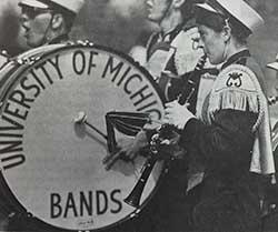 Women join marching band, circa 1972