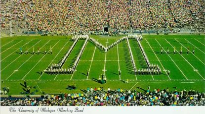 Michigan Marching Band, U-M's Bentley Historical Library