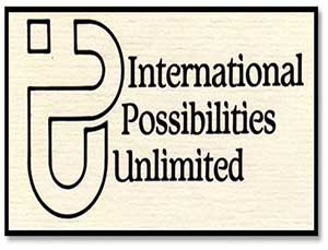The original IPU logo and the front of the informational brochure.