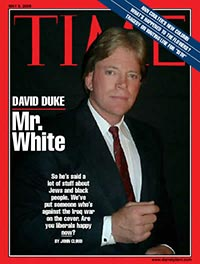 Time cover, with David Duke, 2005
