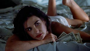 "Demi Moore with money, ""Indecent Proposal."" Paramount Pictures"