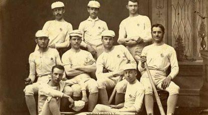 U-M baseball team, 1875