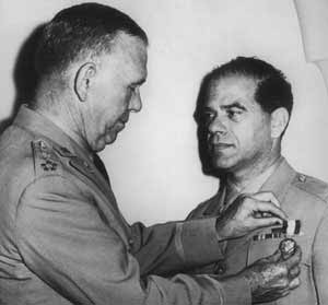 Capra gets medal