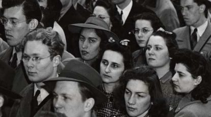 Student protesters, 1940