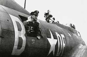 Wyler on B-17