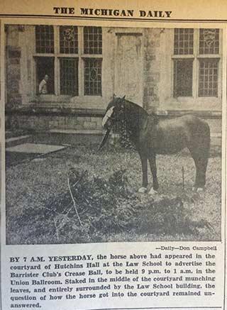 Michigan Daily, April 28, 1954.