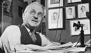 Architect Albert Kahn. (Image courtesy of U-M's Bentley Historical Library.)