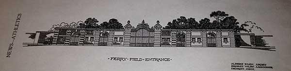 Ferry Field Gate, original rendering.