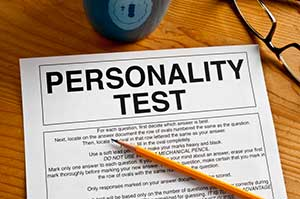 Personality test, stock