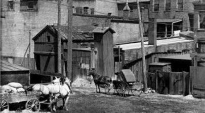 Ann Arbor alley, 1911
