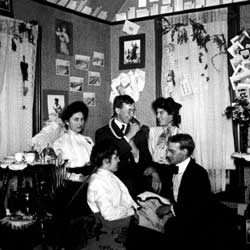 U-M students in the early 1900s.