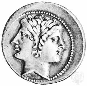 Janus, the two-faced god.