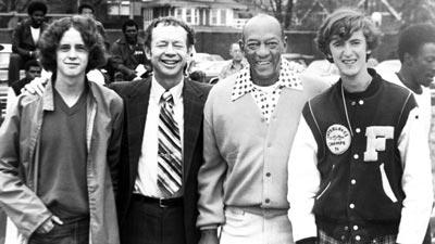 Jesse Owens with Chuck Davey
