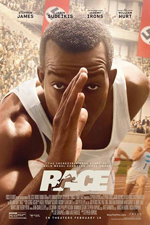 Race movie poster, 2016