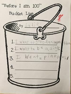 DMUM -- Bucket list.