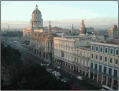 Havana, The Parque Centrale