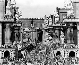 Belshazzar's feast. (Wikipedia.)
