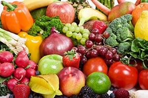 Fruit, veggies. Stock.