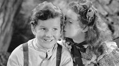 Tommy Kelly as Tom Sawyer, 1937