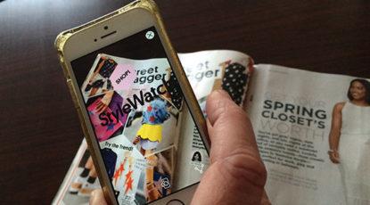 Make it work -- StyleWatch and Blippar app