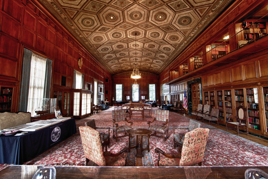 Interior, Clements Library. (Image: Scott Soderberg, Michigan Photography.)