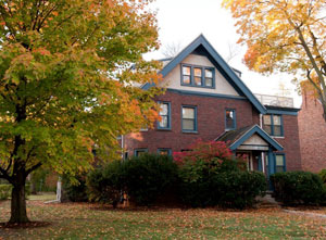Exterior, Henderson House