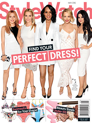 May 2016 issue of StyleWatch.