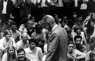 President Robben Fleming, September 1969