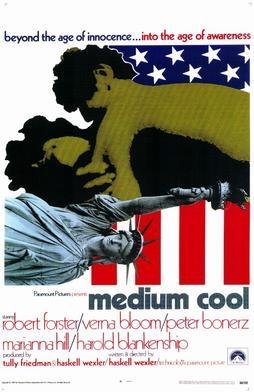 Medium Cool movie poster